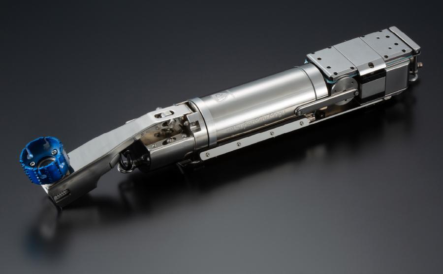 狭い下水管の維持管理をデザイン性にも優れたロボットで実現