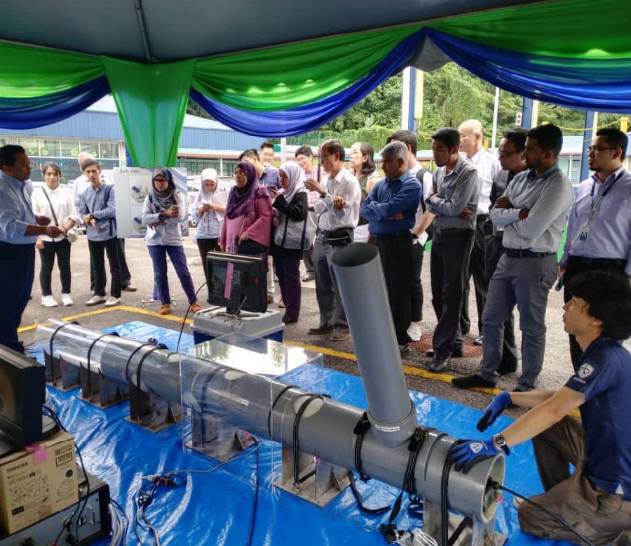 マレーシアの下水道課題を解決すべく、進出を準備中