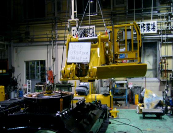 日本ではじめて行った「分解式改造」