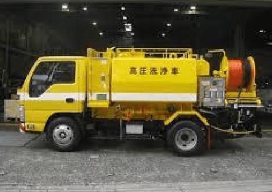 高圧洗浄車(兼松エンジニアリング、いすゞ)